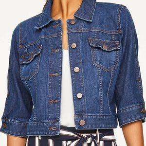Loft Outlet 3/4 sleeve denim jacket/NWOT